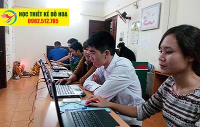 Học thiết kế đồ họa ngắn hạn gié rẻ tại Long Biên